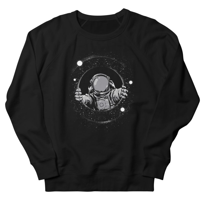 Black Hole Men's Sweatshirt by digitalcarbine