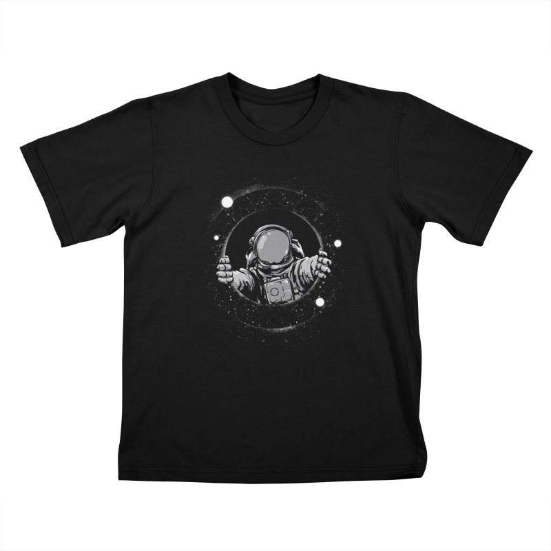 Black Hole Kids T-Shirt by digital carbine