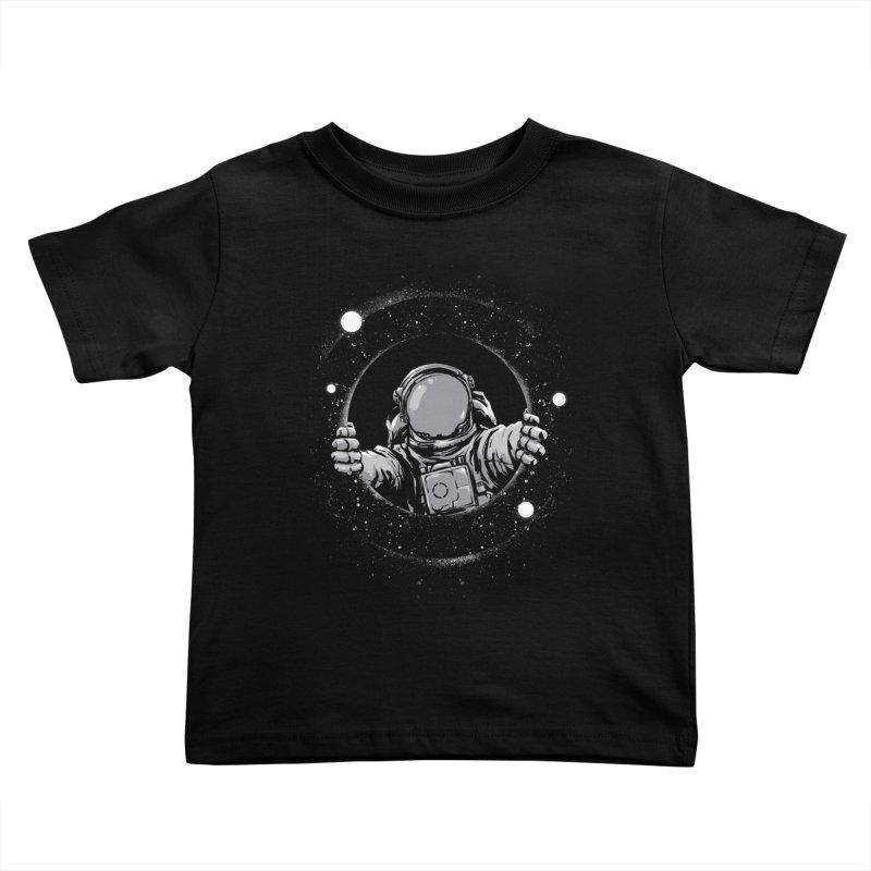 Black Hole Kids Toddler T-Shirt by digitalcarbine