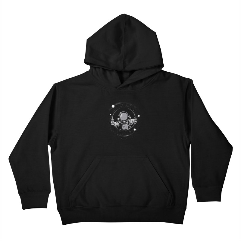 Black Hole Kids Pullover Hoody by digitalcarbine