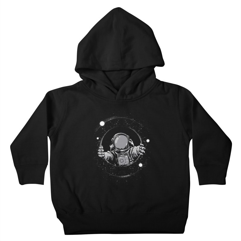 Black Hole Kids Toddler Pullover Hoody by digitalcarbine