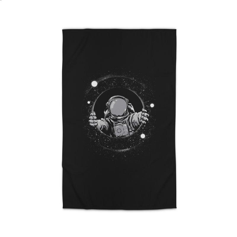 Black Hole Home Rug by digital carbine