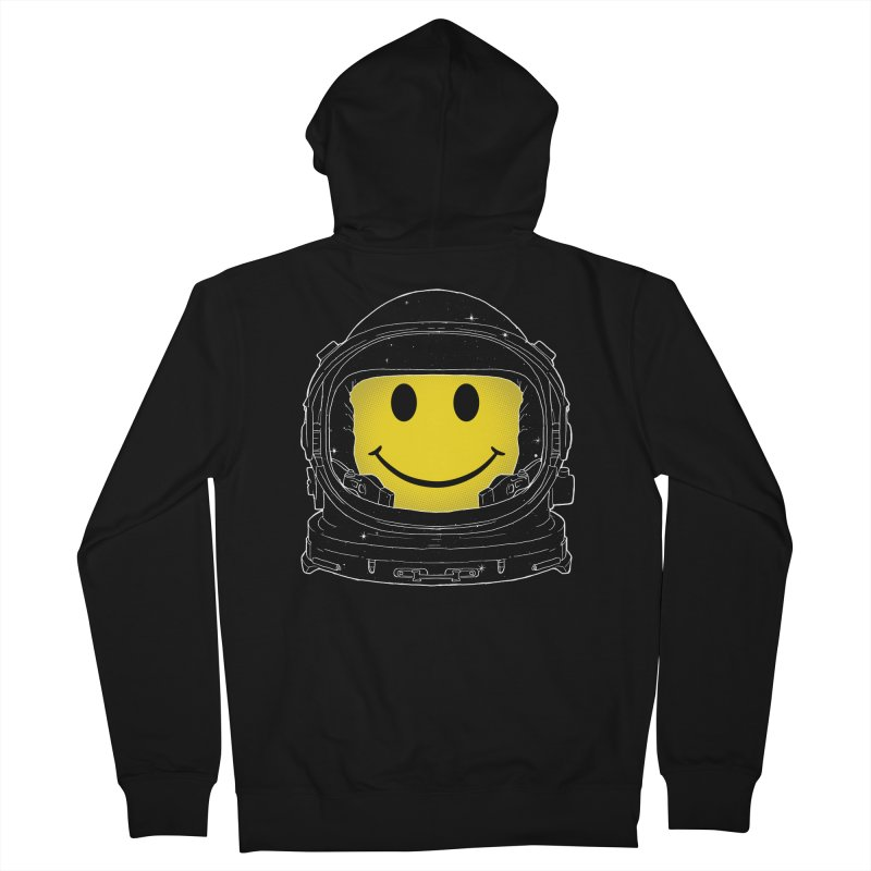Happiness Men's Zip-Up Hoody by digital carbine
