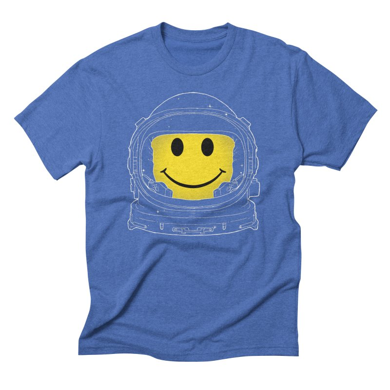 Happiness Men's Triblend T-shirt by digitalcarbine