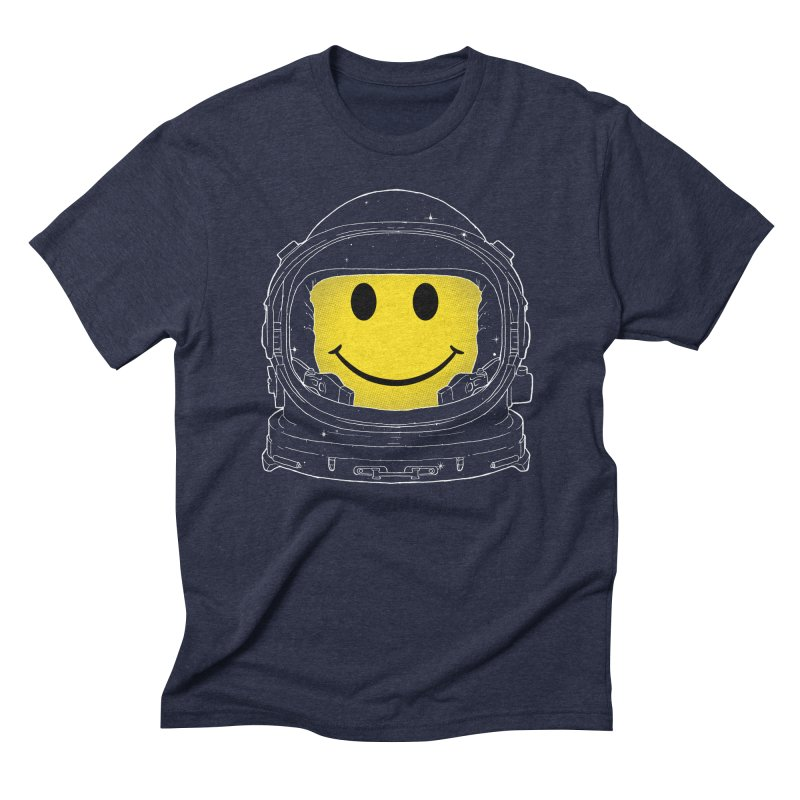 Happiness Men's Triblend T-Shirt by digital carbine