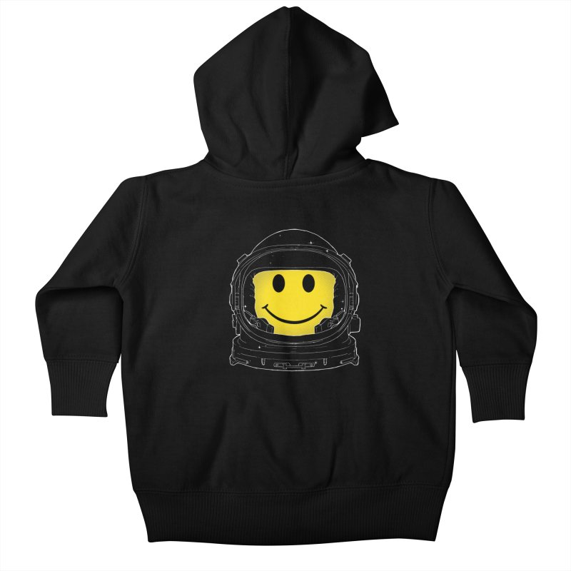 Happiness Kids Baby Zip-Up Hoody by digitalcarbine