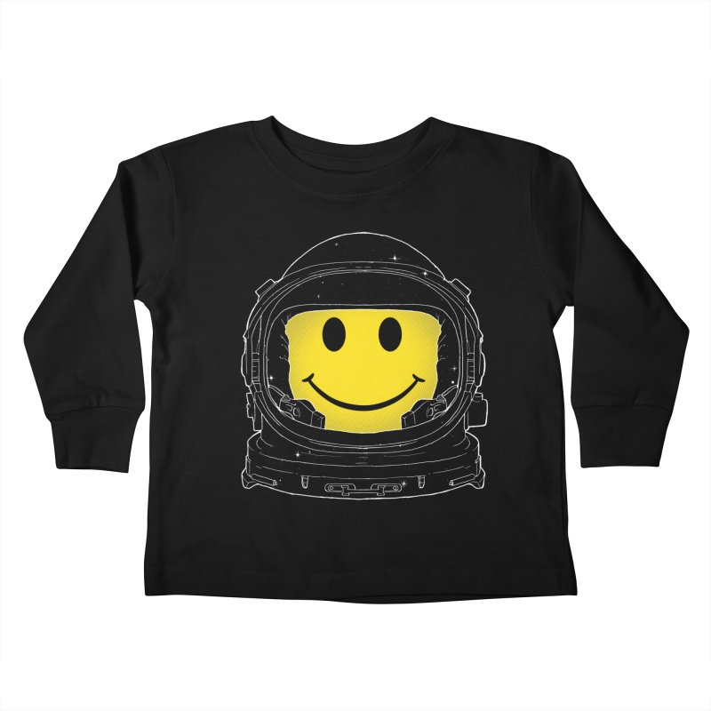 Happiness Kids Toddler Longsleeve T-Shirt by digital carbine