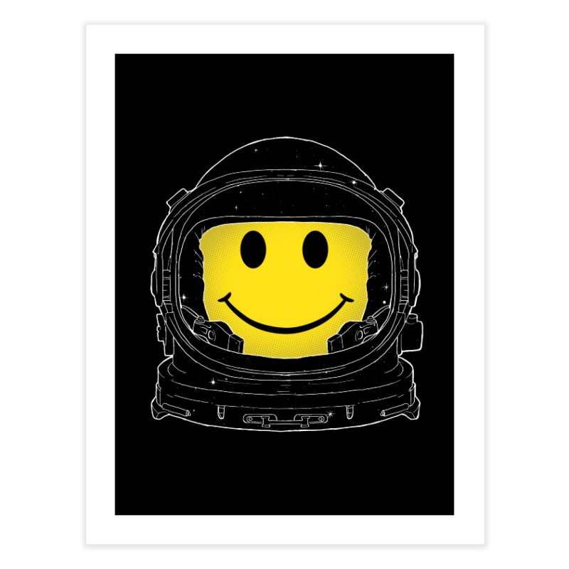 Happiness Home Fine Art Print by digital carbine