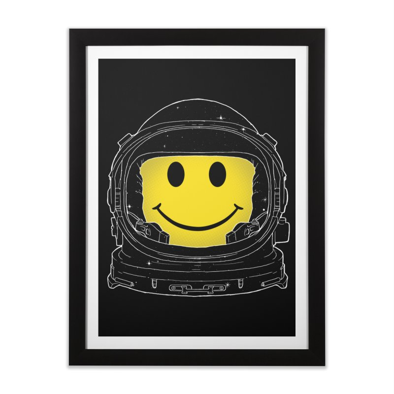 Happiness Home Framed Fine Art Print by digitalcarbine