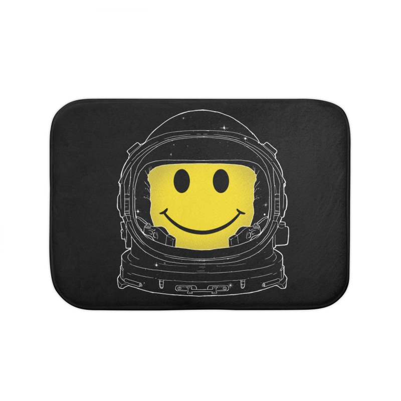 Happiness Home Bath Mat by digital carbine