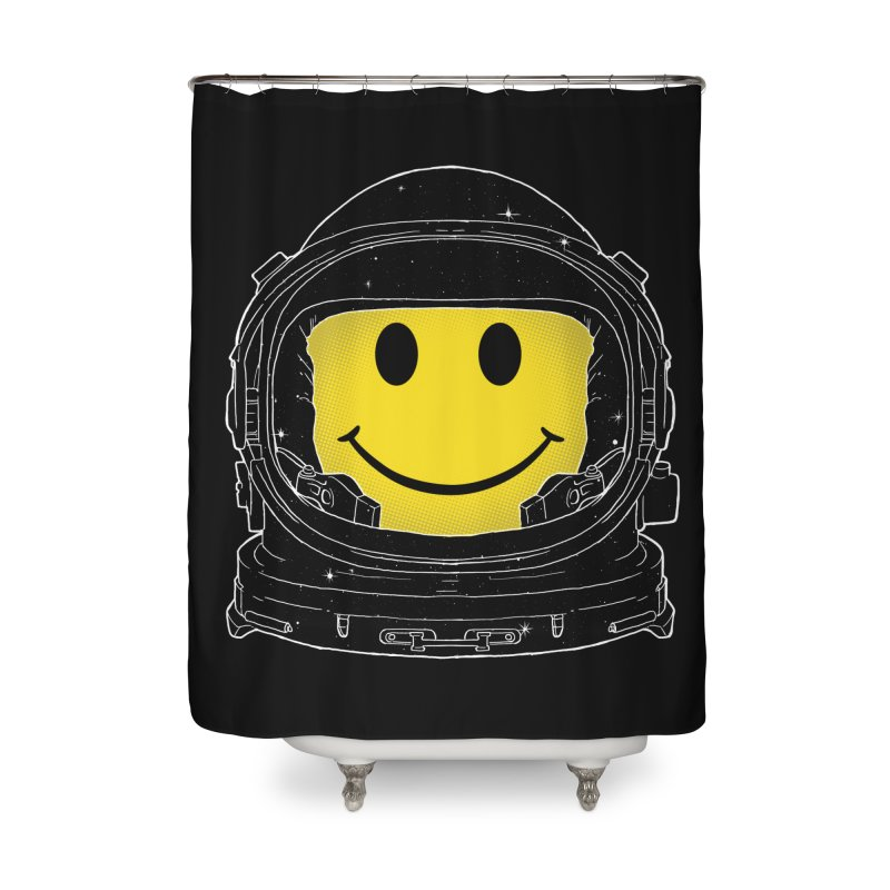 Happiness Home Shower Curtain by digital carbine
