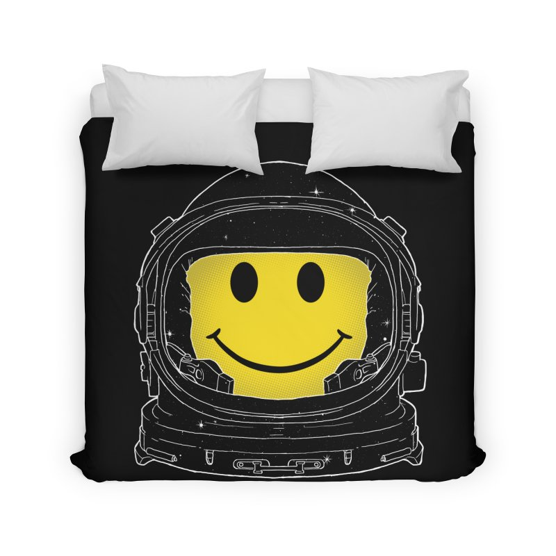 Happiness Home Duvet by digital carbine
