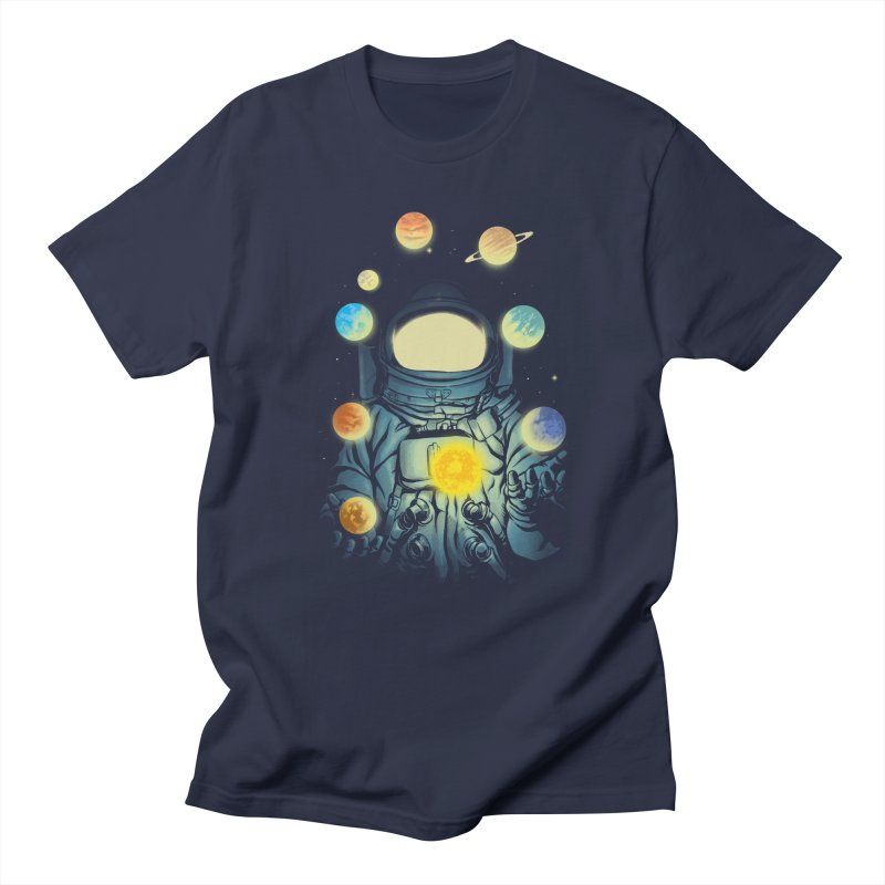 Juggling Planets Men's Regular T-Shirt by digital carbine