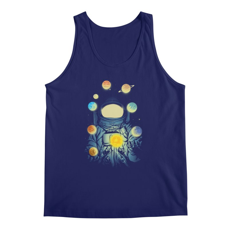 Juggling Planets Men's Regular Tank by digital carbine
