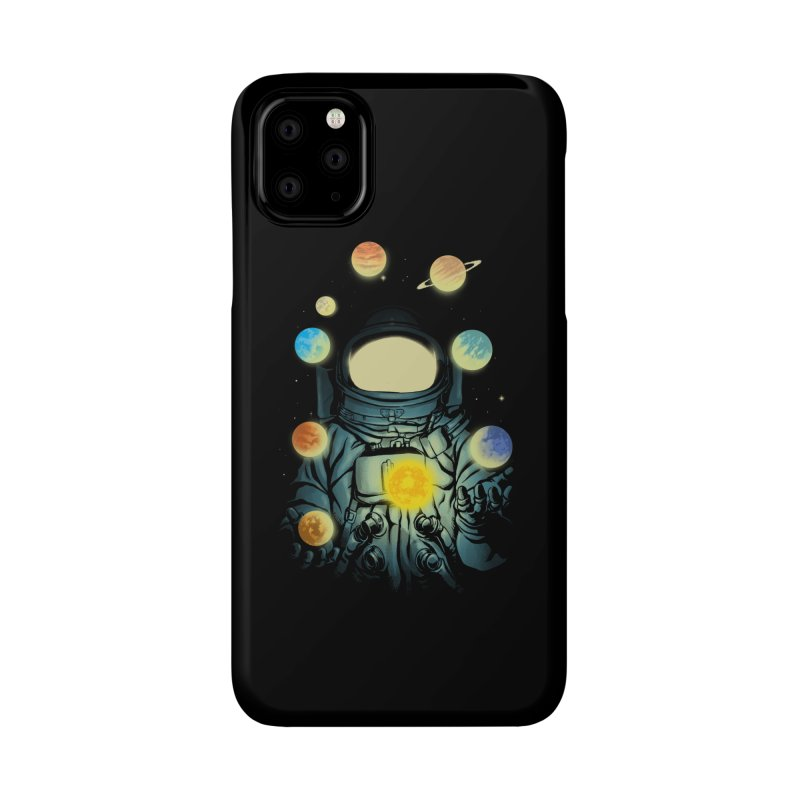 Juggling Planets Accessories Phone Case by digital carbine