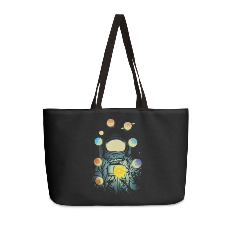 Juggling Planets Accessories Weekender Bag Bag by digital carbine