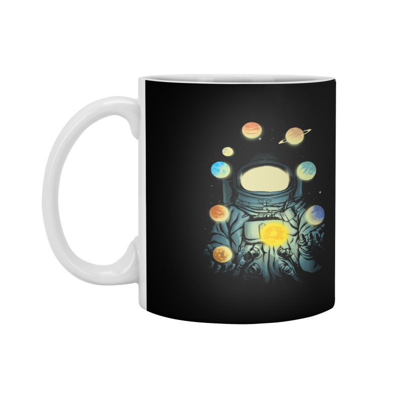 Juggling Planets Accessories Mug by digital carbine
