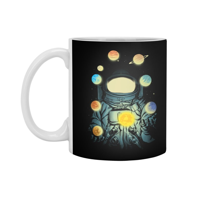 Juggling Planets Accessories Standard Mug by digital carbine
