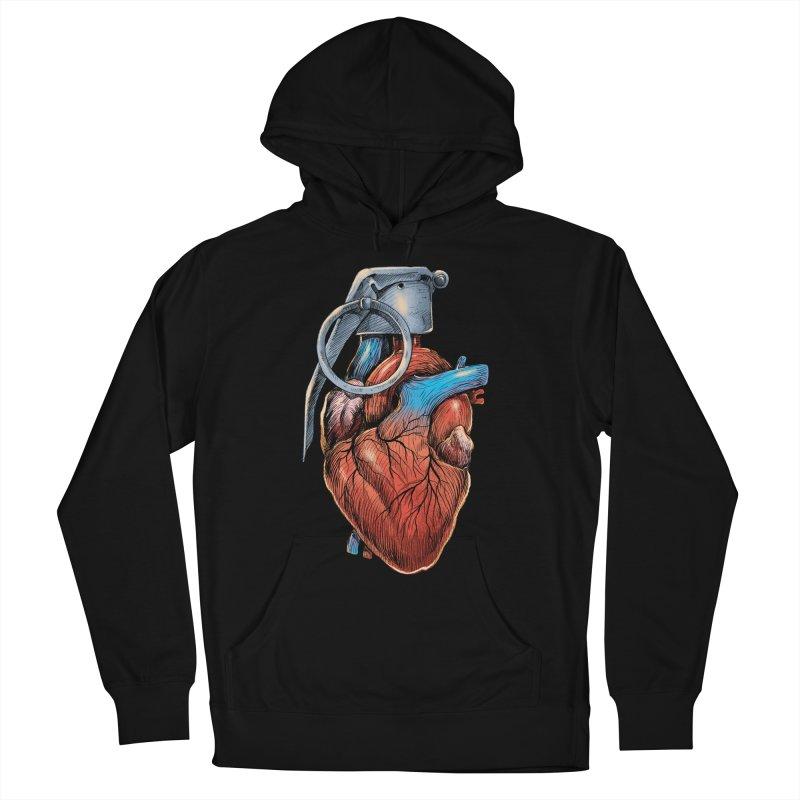 Heart Grenade Women's Pullover Hoody by digitalcarbine
