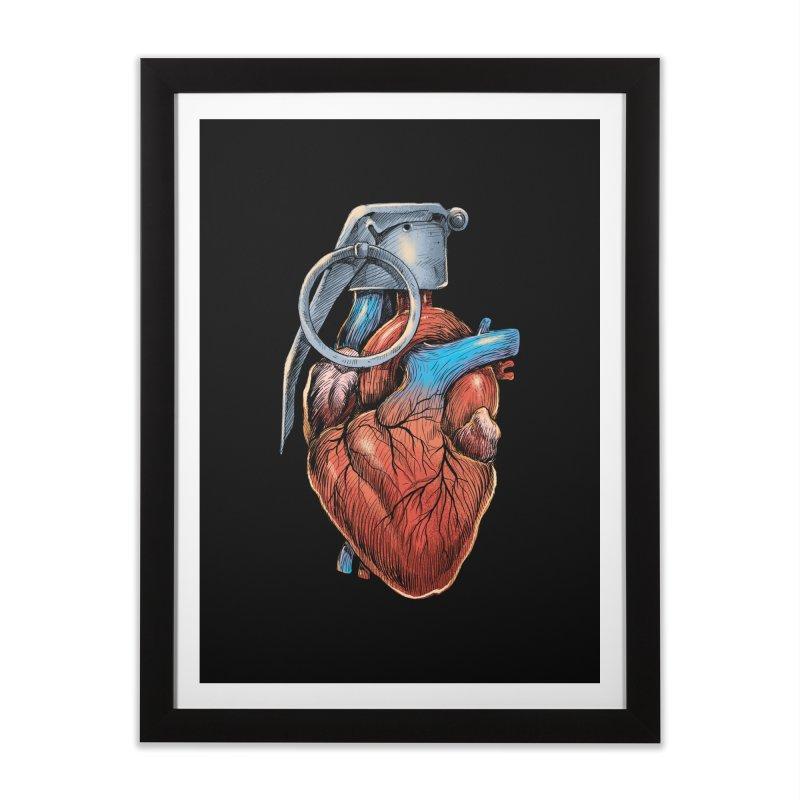 Heart Grenade   by digitalcarbine