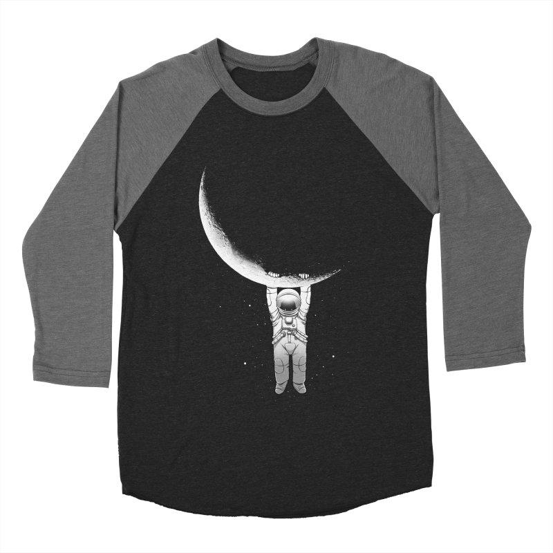 Help! Women's Baseball Triblend Longsleeve T-Shirt by digital carbine