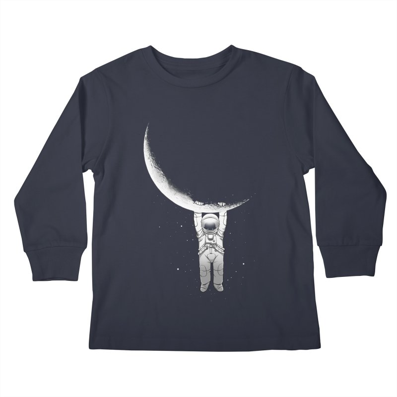 Help! Kids Longsleeve T-Shirt by digital carbine