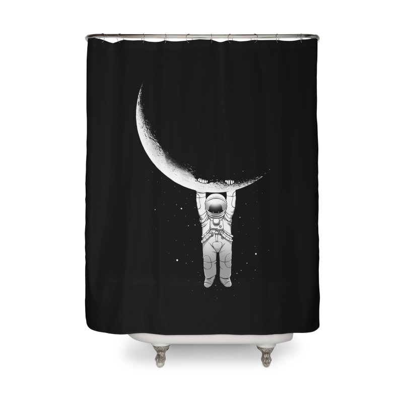 Help! Home Shower Curtain by digital carbine