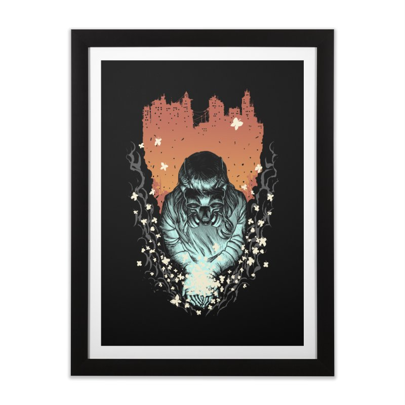 Light of Life Home Framed Fine Art Print by digitalcarbine