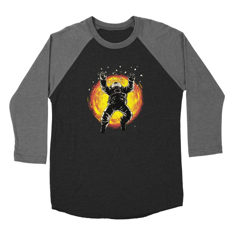 Lost in the Space Women's Baseball Triblend Longsleeve T-Shirt by digital carbine