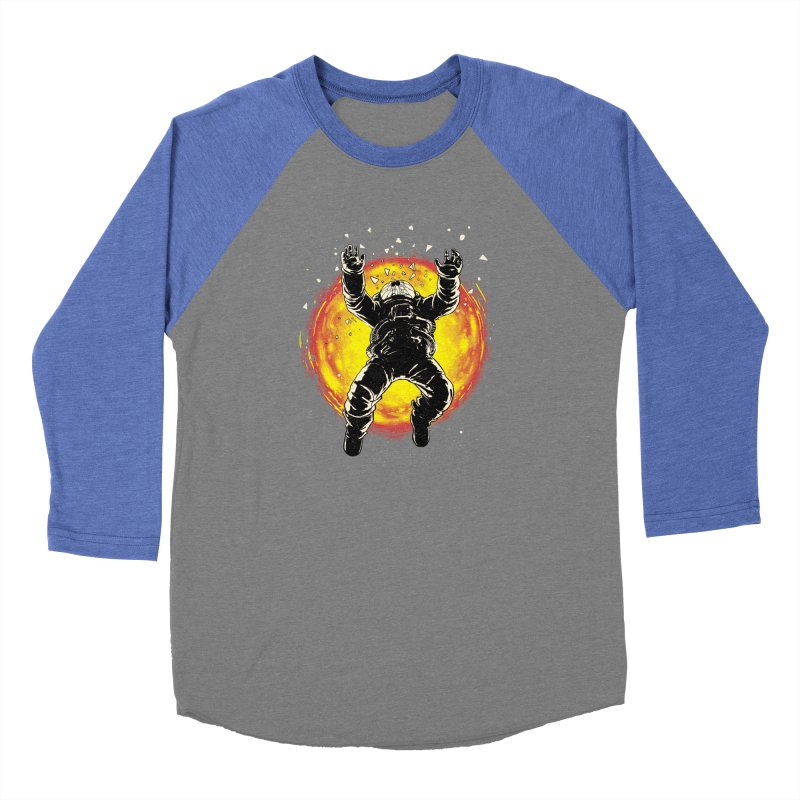 Lost in the Space Men's Baseball Triblend Longsleeve T-Shirt by digital carbine