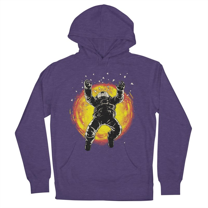 Lost in the Space Women's French Terry Pullover Hoody by digital carbine