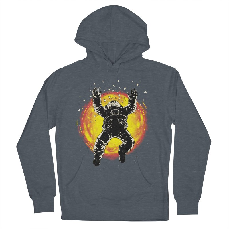 Lost in the Space Men's French Terry Pullover Hoody by digital carbine