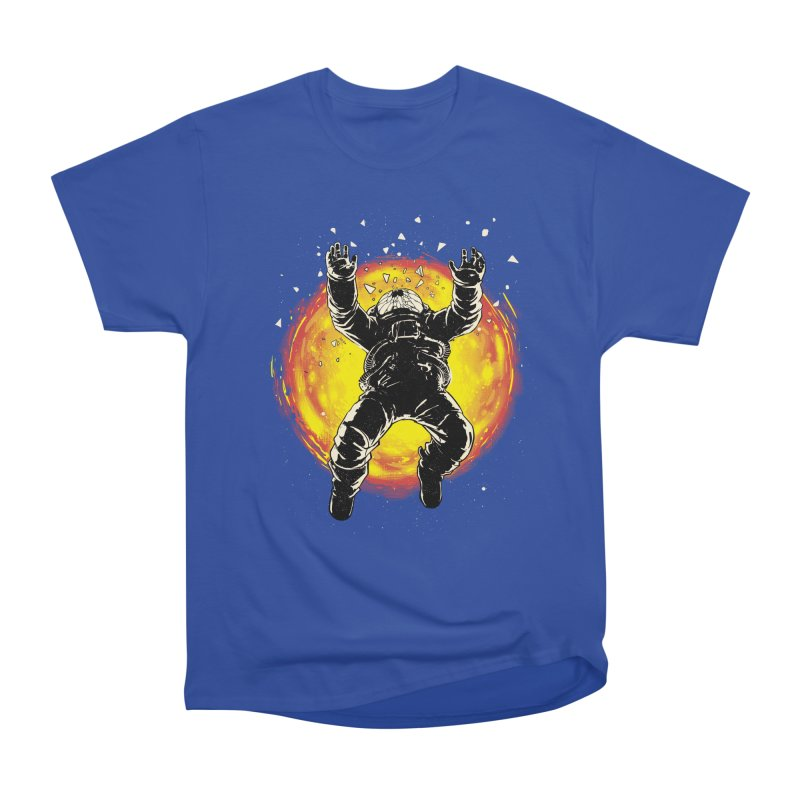 Lost in the Space Men's Heavyweight T-Shirt by digital carbine
