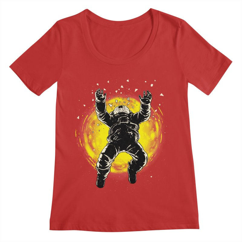 Lost in the Space Women's Scoop Neck by digital carbine