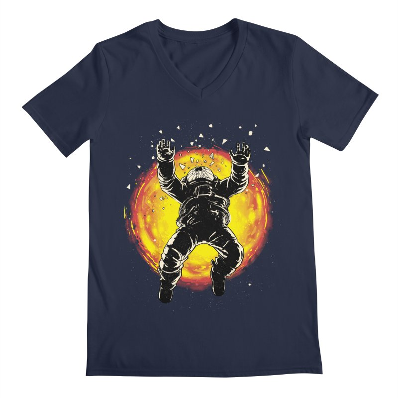 Lost in the Space Men's Regular V-Neck by digital carbine