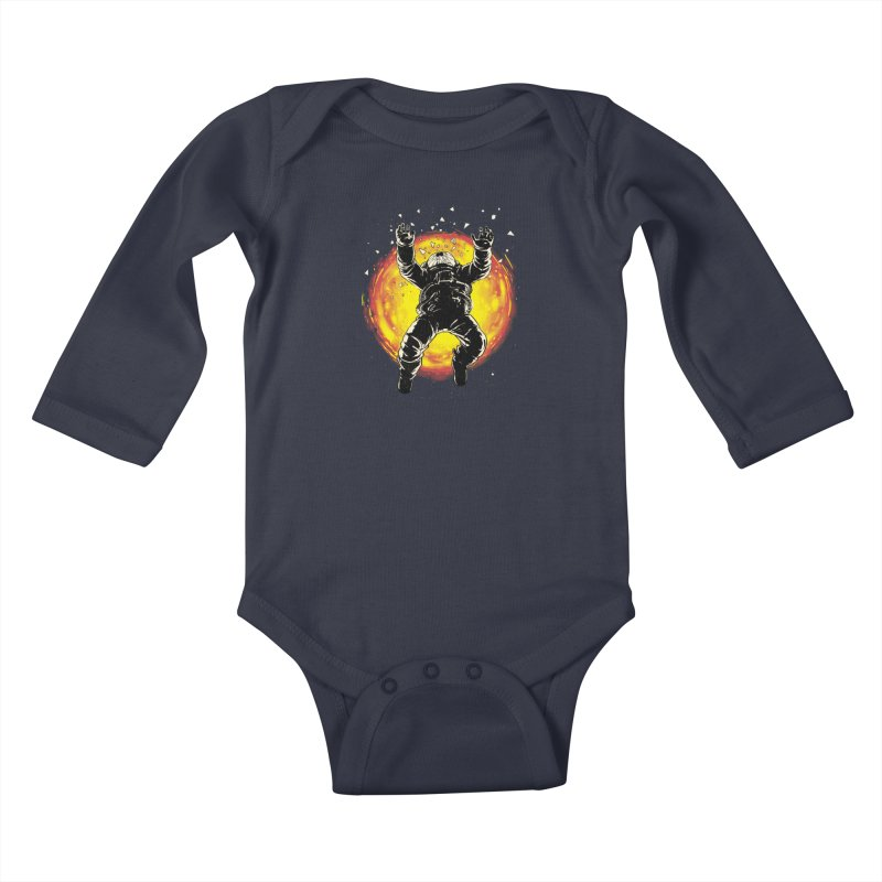 Lost in the Space Kids Baby Longsleeve Bodysuit by digital carbine