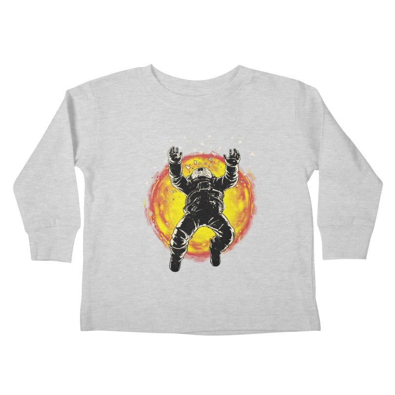 Lost in the Space Kids Toddler Longsleeve T-Shirt by digital carbine