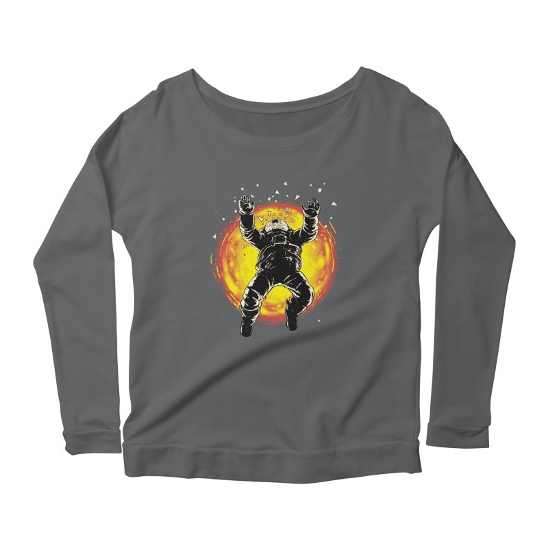 Lost in the Space Women's Scoop Neck Longsleeve T-Shirt by digital carbine