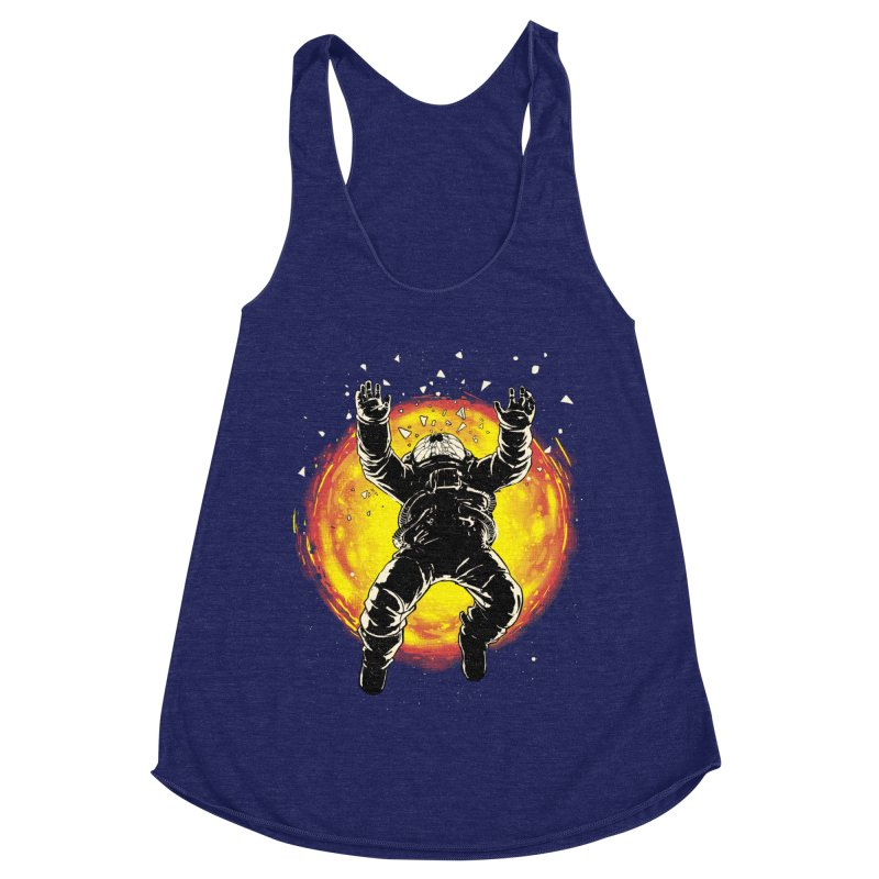 Lost in the Space Women's Racerback Triblend Tank by digital carbine