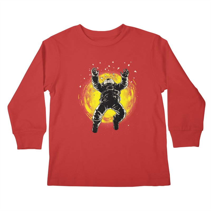 Lost in the Space Kids Longsleeve T-Shirt by digital carbine