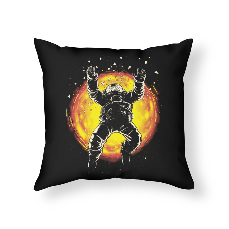 Lost in the Space Home Throw Pillow by digital carbine