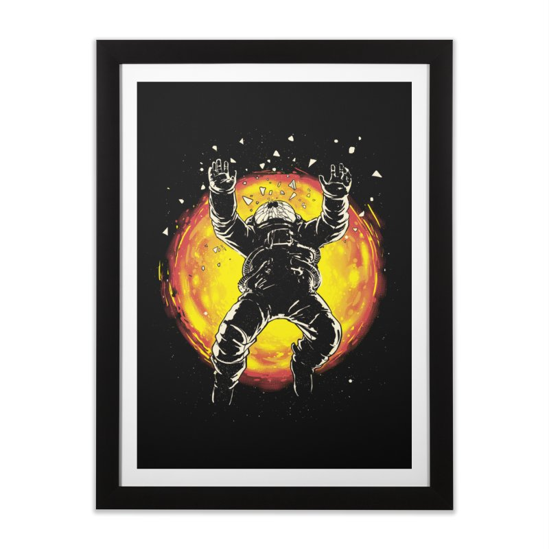 Lost in the Space Home Framed Fine Art Print by digital carbine
