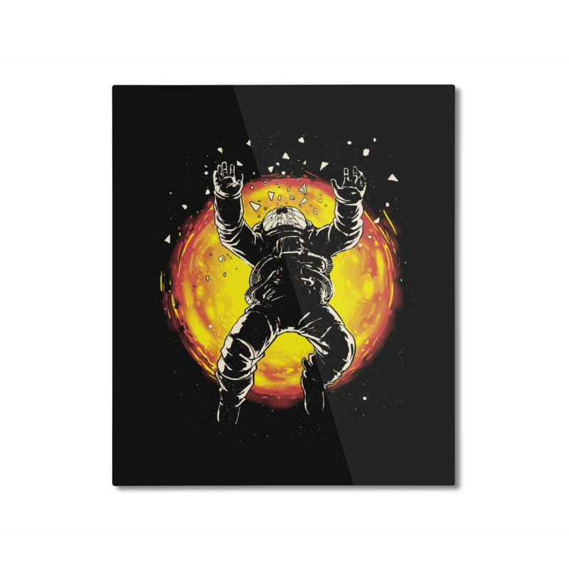 Lost in the Space Home Mounted Aluminum Print by digital carbine