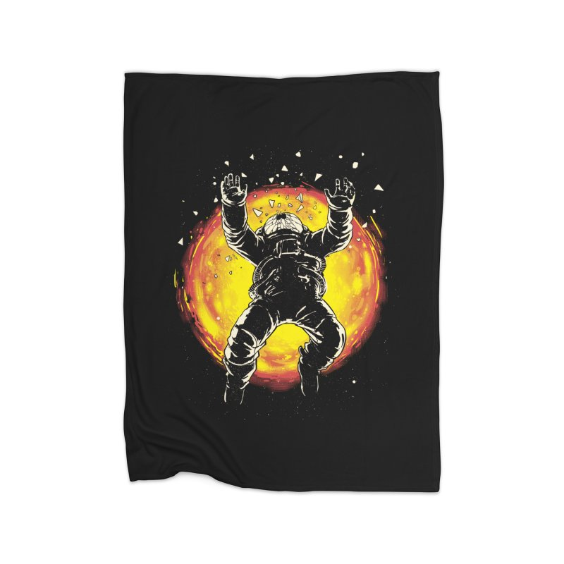 Lost in the Space Home Fleece Blanket Blanket by digital carbine