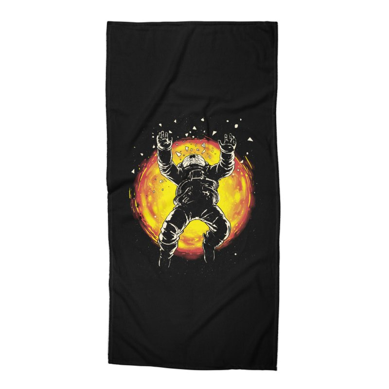 Lost in the Space Accessories Beach Towel by digital carbine