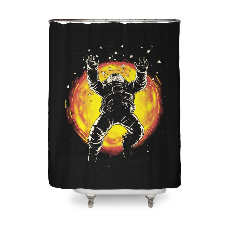 Lost in the Space Home Shower Curtain by digital carbine