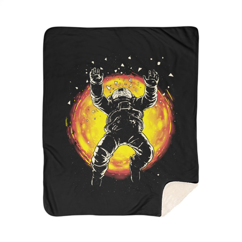 Lost in the Space Home Sherpa Blanket Blanket by digital carbine