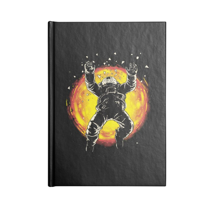 Lost in the Space Accessories Blank Journal Notebook by digital carbine