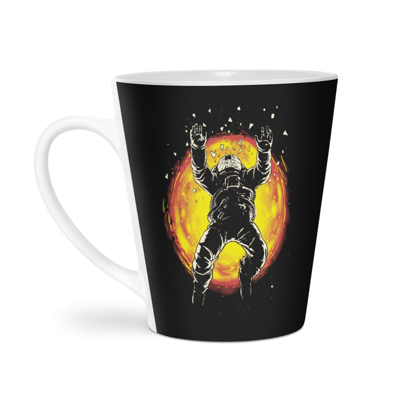 Lost in the Space Accessories Latte Mug by digital carbine