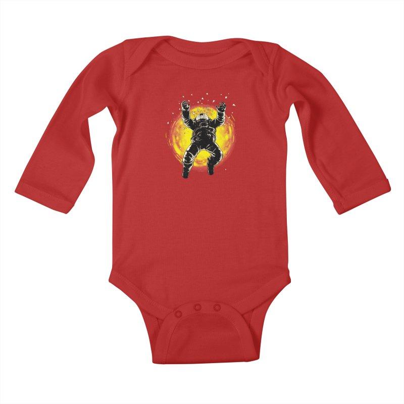 Lost in the Space Kids Baby Longsleeve Bodysuit by digitalcarbine